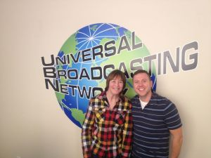 Geri Jewell and Drew Pokorny